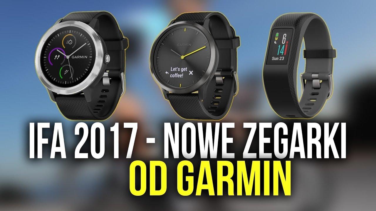 Dedykowane płatności w nowych Smartwatch Garmin! ⏲ #IFA2017