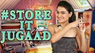 #StoreItJugaad ( Easy & Cool Room Decor and Organisation) | #Jugaad | DIY Thumbnail