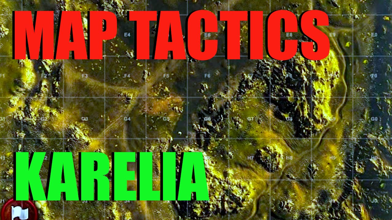 WOT - Map Tactics & Strategy Karelia | World of Tanks with Claus ...