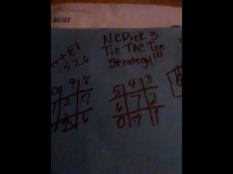 Through explanation of how to use Tic-Tac-Toester System Pick 3 Lottery Wins Money! | FunnyDog.TV