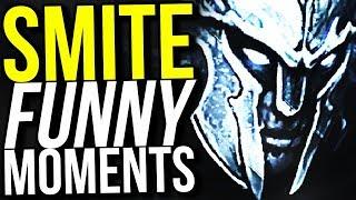 RANDOM GOD RANDOM BUILD! - SMITE FUNNY MOMENTS