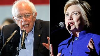 Sanders refusing to bow out despite Clinton making history