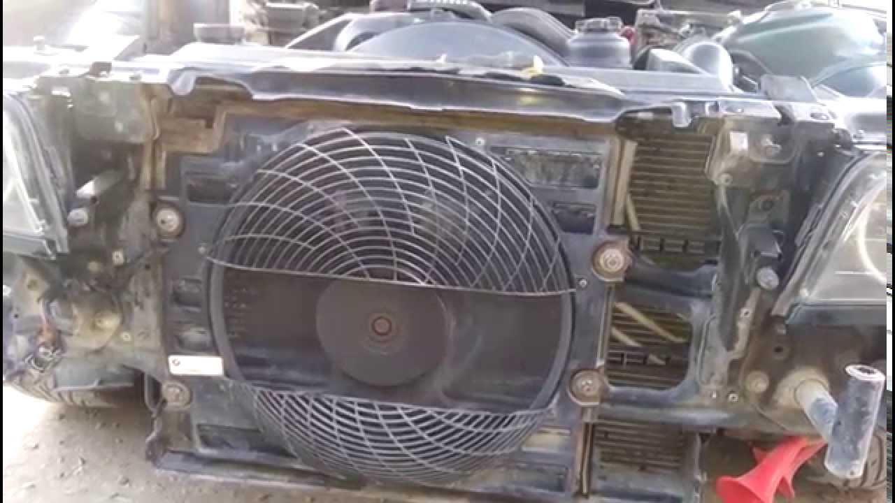 постоянно крутит вентилятор охлаждения bmw е39