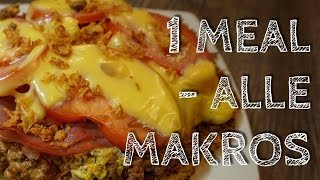 1 Mahlzeit - Alle Makros #2 I IIFYM I Intermittent Fasting
