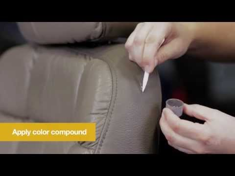 How to Repair Leather and Vinyl Damage
