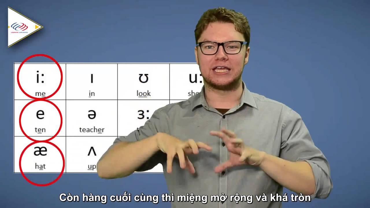 Học phát âm tiếng Anh - Pronunciation Guide - Tổng quan nguyên âm đơn [Phát âm tiếng Anh chuẩn #1]
