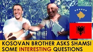 Kosovan Bro asking Shamsi about Islam | Speakers Corner