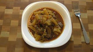 Азу из говядины - простой и вкусный рецепт