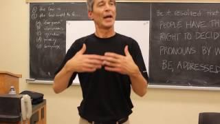 Social Justice/Freedom of Speech: Bill C16 Debate Queen's Law School