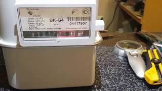 Как остановить счетчик газа BK G4 .Уходим в электронику !(, 2016-10-16T21:43:44.000Z)