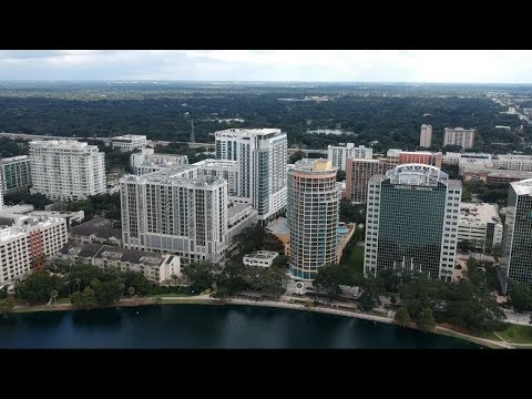 Downtown Orlando Florida (DJI Spark Footage)