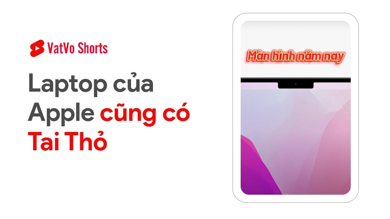 ẢO THẬT ĐẤY! Laptop của Apple cũng có TAI THỎ #shorts