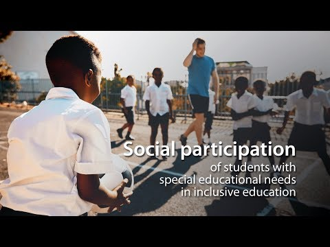 Social participation of students with special educational needs in inclusive education