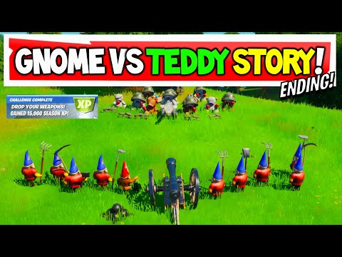 Gnome Vs Bears ENDING SECRET CHALLENGE!