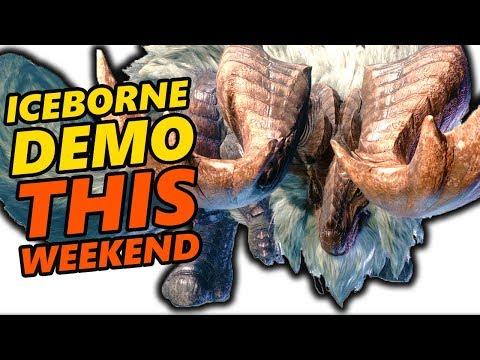 Monster Hunter World Iceborne Demo THIS WEEKEND!