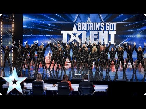 Видео: Refreshingly evil dance troupe The Addict Initiative  Britains Got Talent 2014