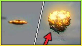 SZOKUJĄCE NAGRANIA z UFO złapane w TELEWIZJI!