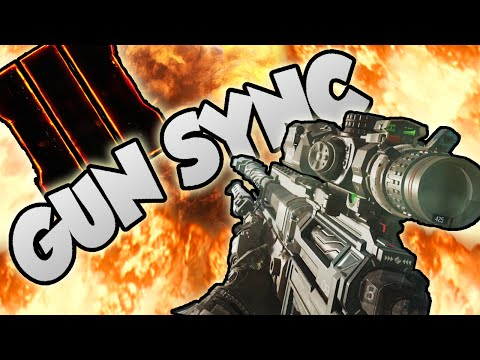 EPIC BLACK OPS 3 GUN SYNC - GREAT ESCAPE - MINI GUN SYNC