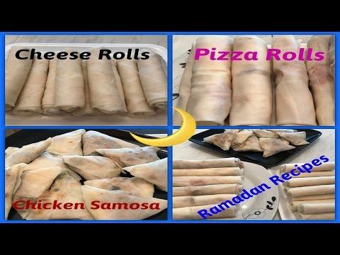 Ramadan recipes - 3 delicious appetizers - ٣ انواع مقبلات رمضانية