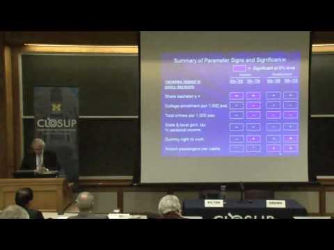 .@fordschool - George Fulton: Transformation of America's metropolitan area economies