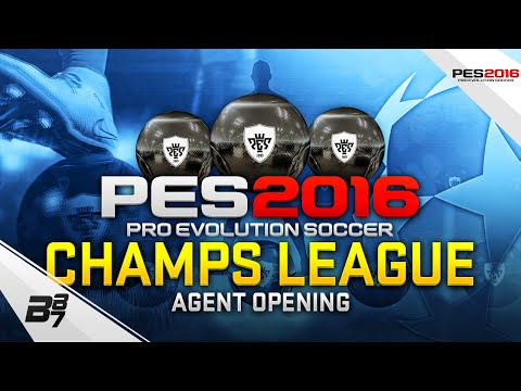 PES 2016 MyClub | CHAMPIONS LEAGUE AGENT OPENING! HUGE PULL! #16