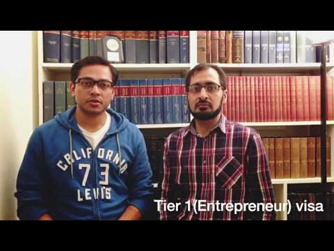 Successful Tier 1 (Entrepreneur) Visa