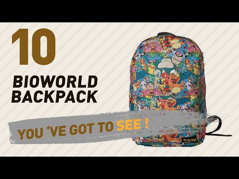 Bioworld Backpack Great Collection, Just For You! // UK Best Sellers 2017