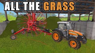 MORE GRASS STORAGE | Farming Simulator 2017