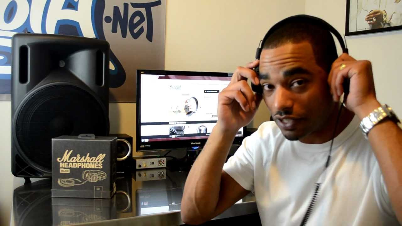 Marshall Major Professional Headphones Review Video Pitch