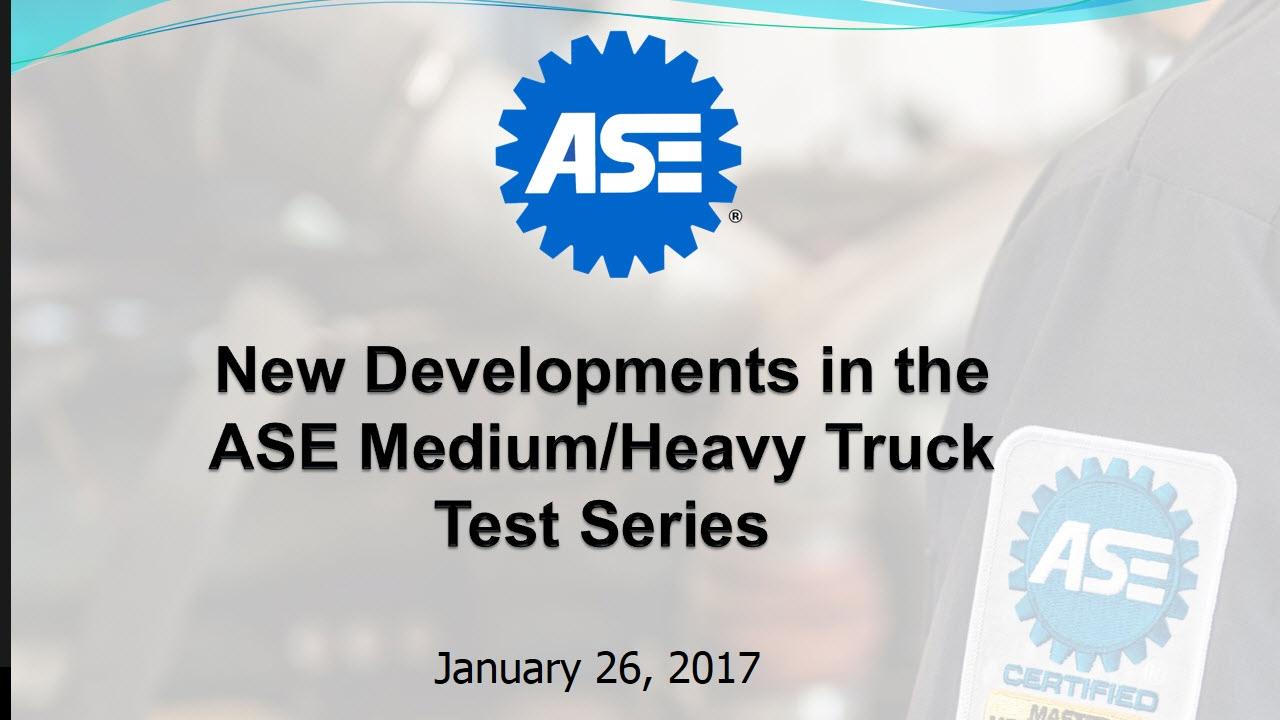 heavy duty truck ase practice test