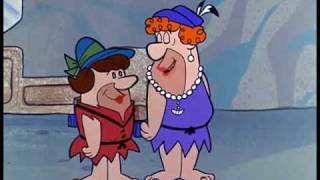 THE FLINTSTONES-FRED & BARNEY IN DRAG