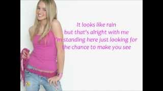Watch Katelyn Tarver Rain video