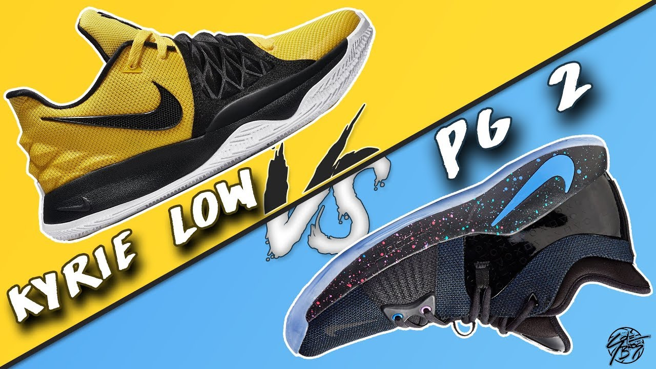huge selection of 28d8d 8718d Nike Kyrie Low vs PG 2!