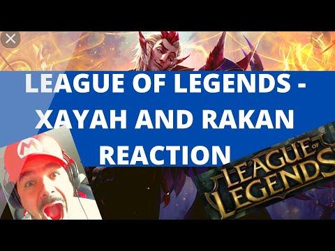 League of Legends - Xayah and Rakan: Wild Magic Reaction!
