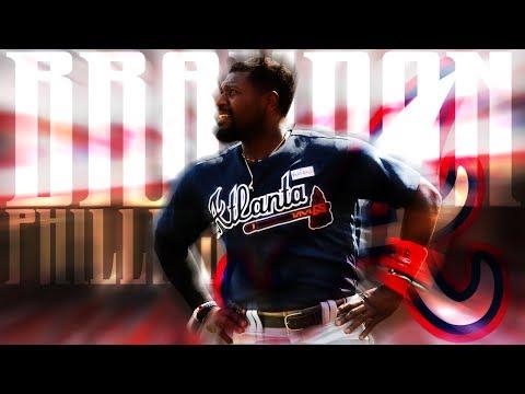 Brandon Phillips | 2017 Braves Highlights ᴴᴰ