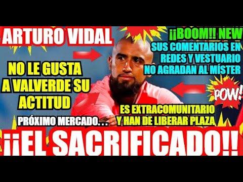¡¡EL BARÇA y ARTURO VIDAL FUERA...!! ¡ÚLTIMA HORA! FC BARCELONA NOTICIAS FICHAJES y RUMORES