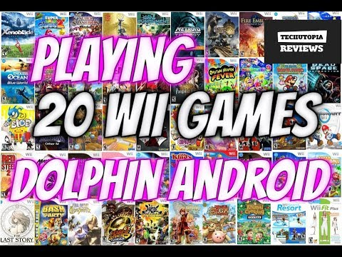 20 Wii Games on Android Smartphone/Dolphin GC/Wii Emulator/Xiaomi Mi6 gaming