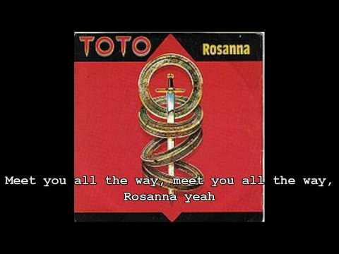 rosanna(with lyrics)