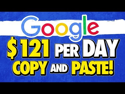 🔥 Earn $121.00+ Per Day With Google! (Simple Copy And Paste) Fast PayPal Cash!