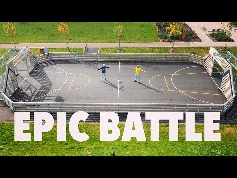 EPIC FOOTBALL BATTLE vs THEO BAKER (Wembley Cup Rematch)