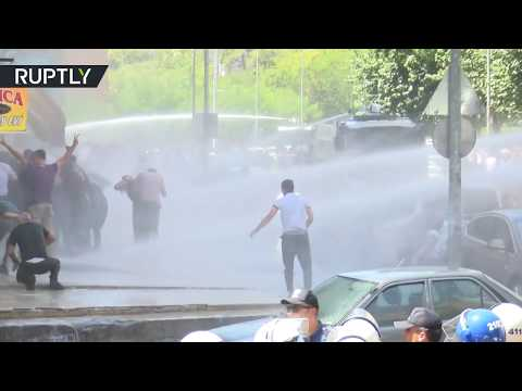 Protesters Clash With Police In Diyarbakir, Turkey