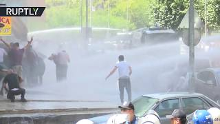 Protesters Clash With Police In Diyarbakir Turkey