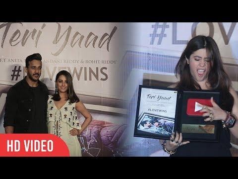 UNCUT - Teri Yaad Video Song Launch | Anita Hassanandani, Rohit Reddy | Raj Kundra