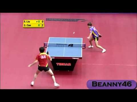 Liu Shi Wen vs Cao Zhen (2009 Slovenian Open)