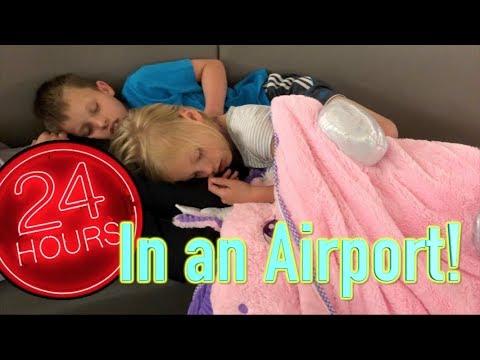 24 hours in the Airport, with Ninja Kidz tv