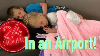 24 hours in the Airport, with Ninja Kidz tv