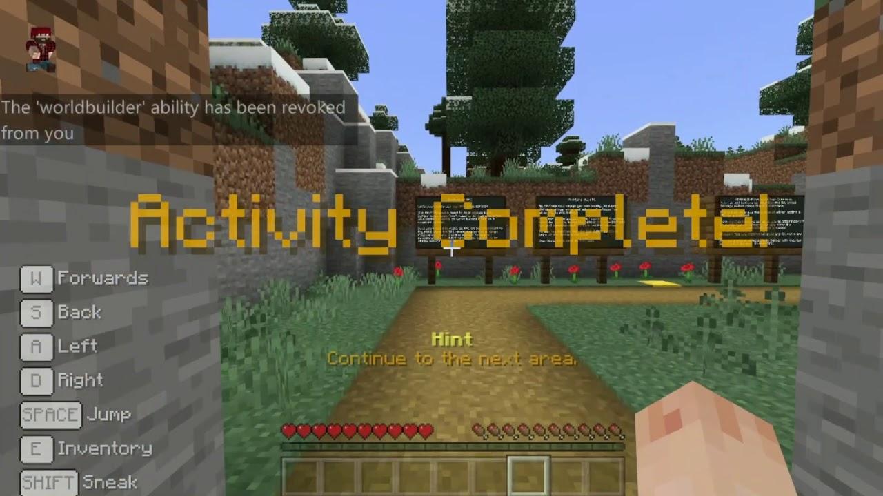 Minecraft Education Edition Npc Tutorial Youtube