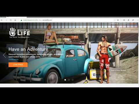 How To Download Second Life. Virtual Online Game In Hindi Tutorial