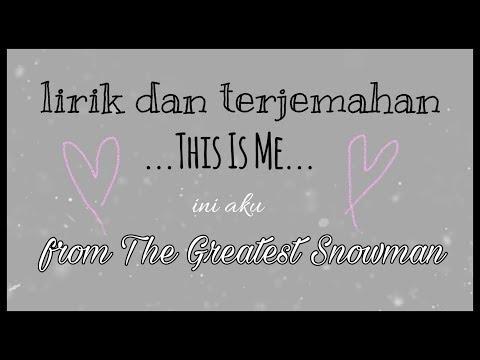 "Lirik dan terjemah ""THIS IS ME"" from the greatest showman - Kaela Settle"