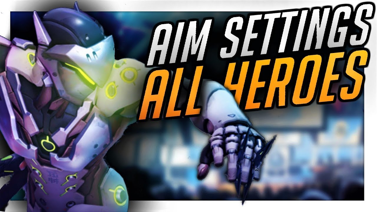 NEW Best Aim Settings Console: ALL HEROES - Improve Aim!   PS4/Xbox  Overwatch